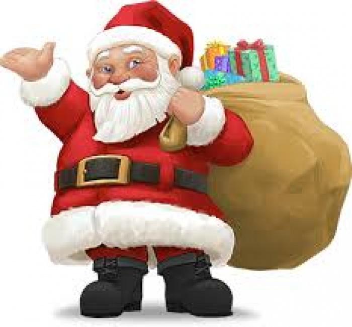 Wizyta Świętego Mikołaja 6 grudnia, godz. 10.00